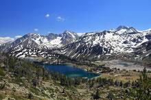 Lac d'Aumar et barrage d'Aubert