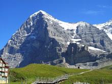 Eiger : faces nord et ouest