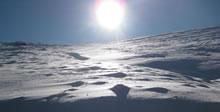 premières neiges  massif de l'Aigoual