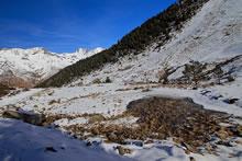 Vallée de Barèges en raquettes
