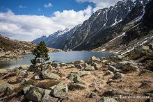Randonnée au lac d'Estom