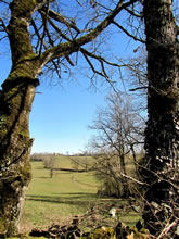 Balade près de Rodez, en Aveyron, de Fontanges au parc de Vabre