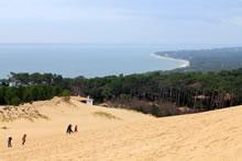 Randonnée bassin d'Arcachon : balade sur la dune du Pyla
