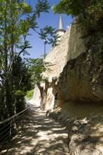 Départ de la randonnée du Tour de Sainte Croix du Mont