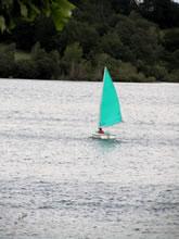 Voile sur le Lac de Pareloup