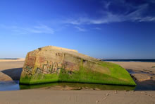 Un des blockhaus de la Pointe du Cap Ferret