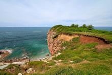 Balade au bord de la mer sur le domaine d'Abbadia