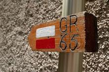 Dans Saint-Côme-d'Olt sur le GR 65