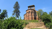Randonnée à la Vierge de Vermus, au dessus d'Espalion