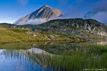Randonnée au lac Fourchu depuis la Grenonière par le Pas de l'Envious