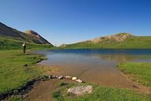 Randonnée au lac de Souliers