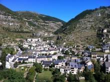 Village de Sainte Enimie dans les Gorges du Tarn
