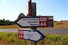 Sentier de Grande Randonnée GR 44