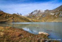 Lac et refuge du Goléon