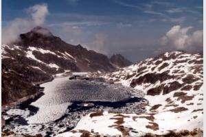Lac de Migouélou (juin 1996)