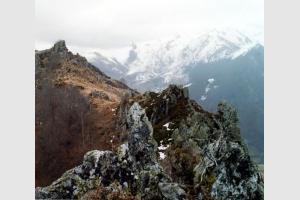 Vue depuis le sommet du pic de Pan