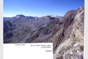Depuis le sommet de l'Estaragne