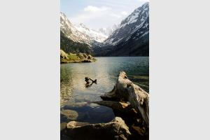 Lac de Gaube au printemps
