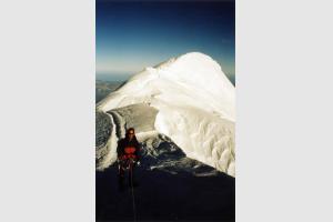 Dernière trace avant le sommet