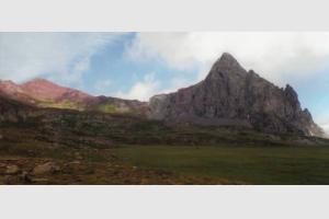 Vue sur le Vertice et le pic d'Anayet