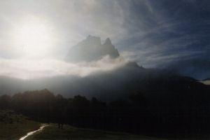 Pic du Midi d'Ossau le matin