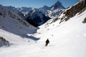 Pic du Midi d'Ossau depuis le Val d'Arrious.