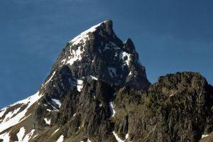 Zoom sur le pic du Midi d'Ossau