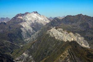 Glacier d'Ossoue et Vignemale