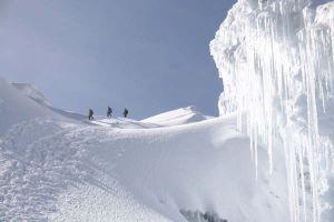 Cotopaxi entre neige et glace