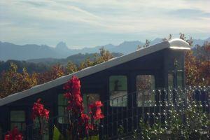 Pic du Midi d'Ossau vu du boulevard des Pyrénées à Pau
