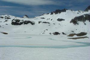 Lacs d'Ayous sous la neige