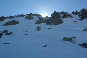 Le sommet du pic Peyreget n'est pas loint