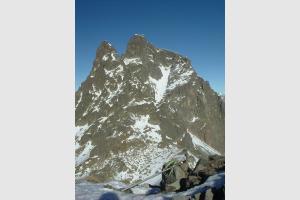 Pic du Midi d'Ossau depuis le Peyreget