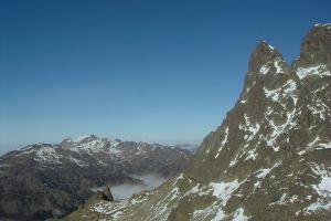 Petit pic du Midi d'Ossau et le pic de Sesques