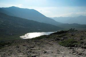 Au dessus du lac de Nino