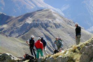 L'équipe d'Imag'In Pyrénées au pic du Midi d'Ossau