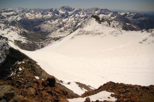 Le glacier du Vignemale