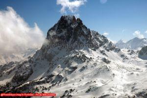 Pic du Midi d'Ossau depuis le pic de Larry