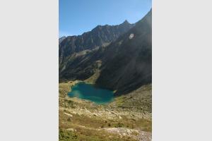 Lac d'Estom en août 2006