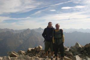 au sommet du Pic du Midi d'Ossau !