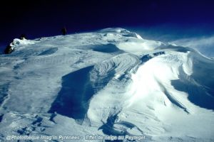 Effet de neige au Peyreget