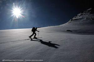 Ski, skieurs, rando à ski, free-ride