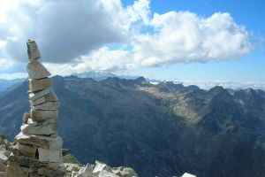 Du sommet de la Punta Alta