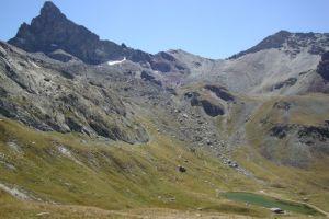 La Tête des Toillies et le Lac de la Blanche ( 2500 m)