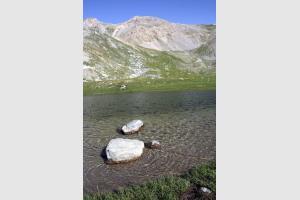 Lac de Souliers dans le Queyras