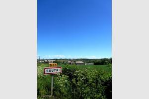 Randonnée à Souyri, village Aveyronnais