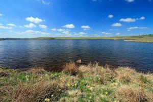 Lac des Moines en avril