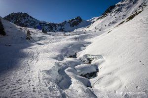 Lac dets Coubous en ski de rando