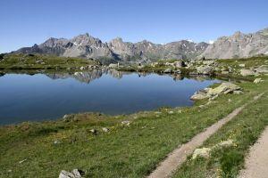 Lac Laramon, Alpes, randonnée Vallée de la Clarée