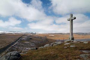 Croix du lac de Saint Andéol